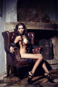 Nude. Topless, Model
